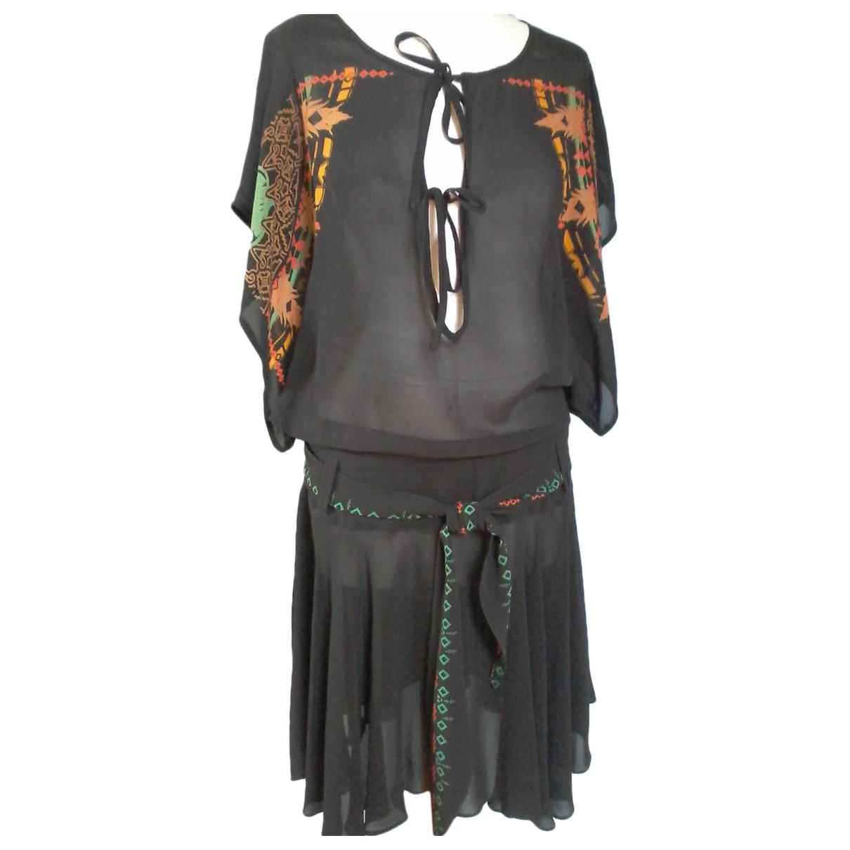 Diesel \N Black Silk dress for Women L International