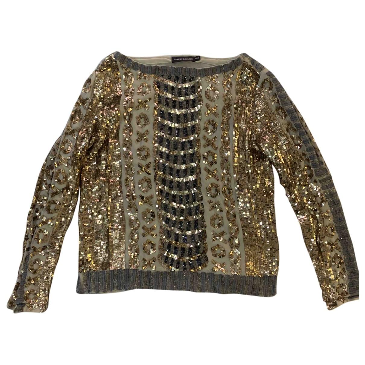 Antik Batik \N Top in  Gold Viskose