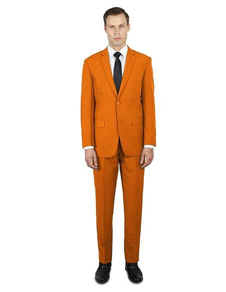 Alberto Nardoni Best Online Holiday Christmas Outfit For men Orange