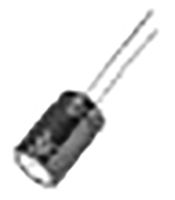 Panasonic 100μF Electrolytic Capacitor 63V dc, Through Hole - EEUFR1J101LB (1000)