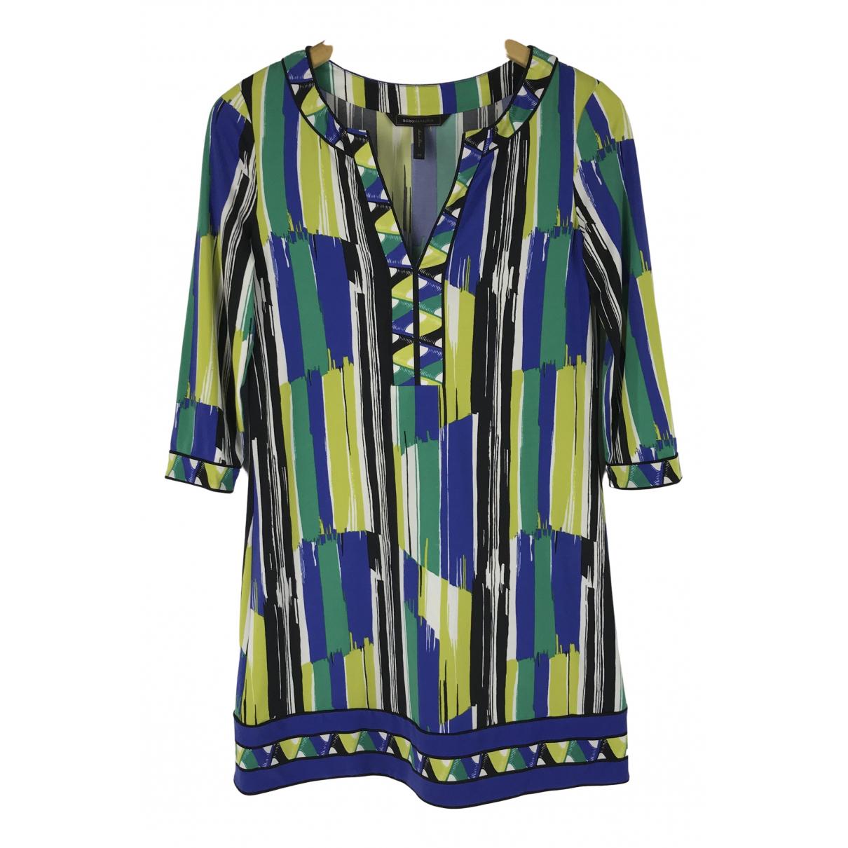 Bcbg Max Azria - Robe   pour femme en coton - multicolore