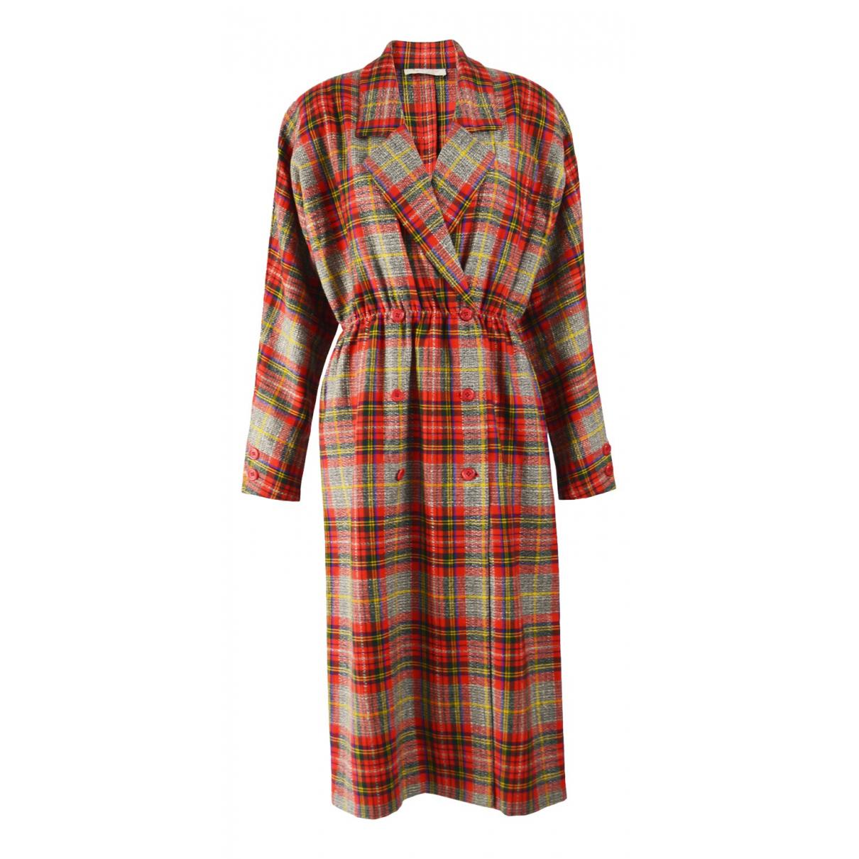 Aquascutum \N Kleid in  Bunt Wolle
