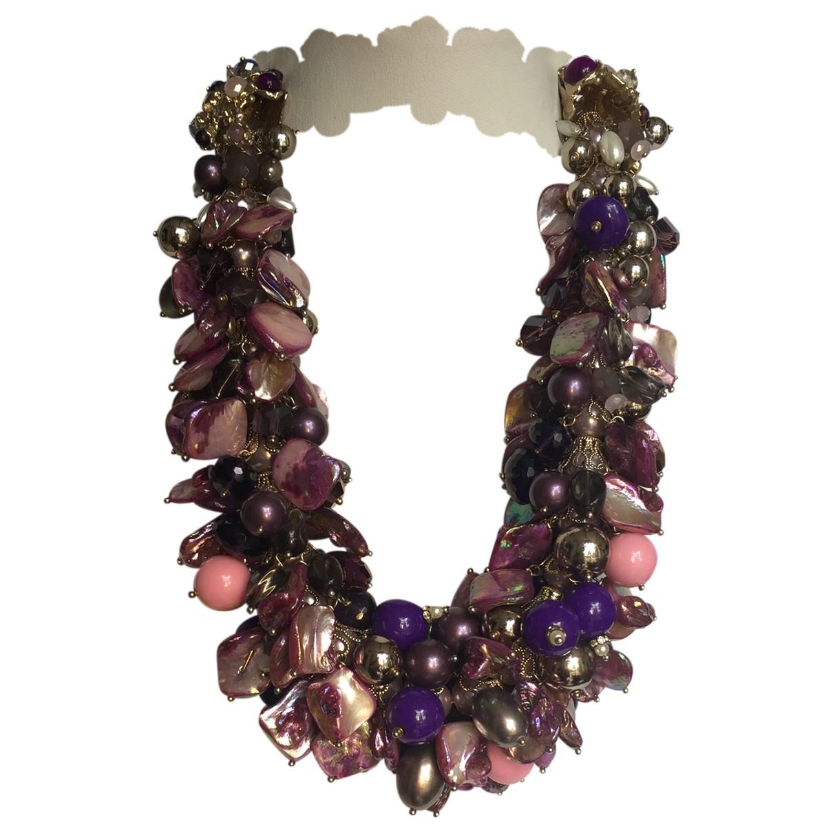 Appartement A Louer - Collier   pour femme en perles - multicolore