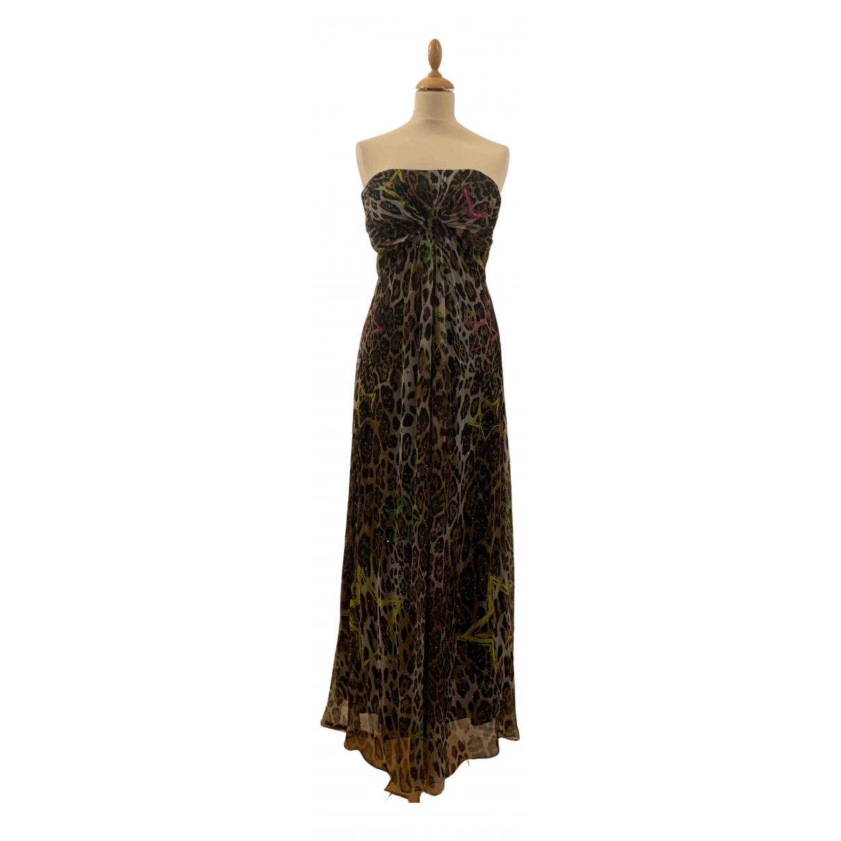 Maxi vestido de Seda Philipp Plein