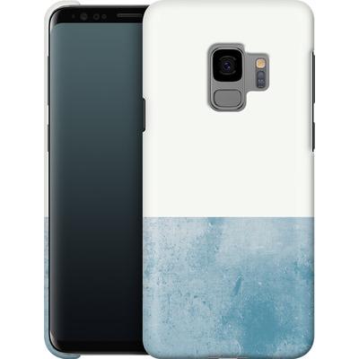 Samsung Galaxy S9 Smartphone Huelle - Colour Block Blue von caseable Designs