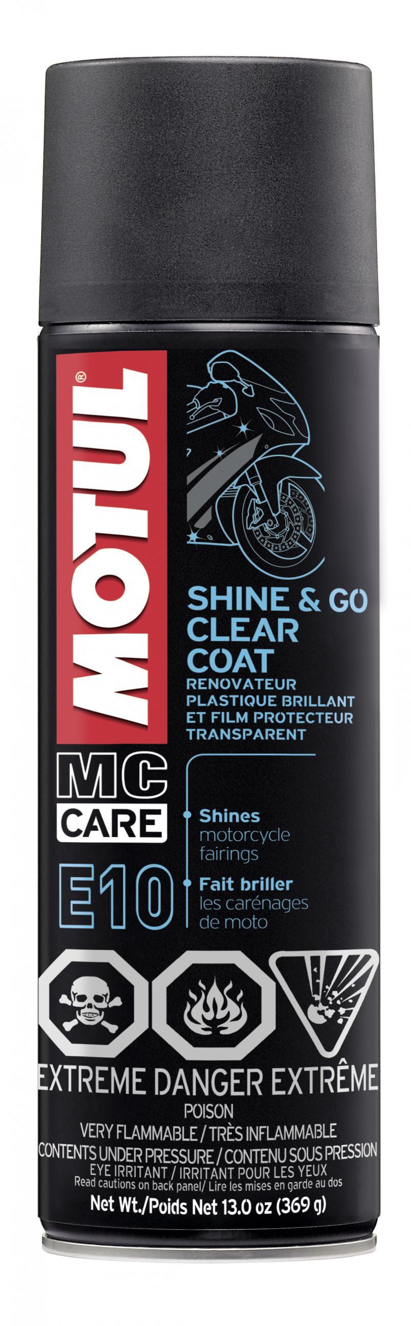 Motul E10 SHINE & GO - 0.550L  - Car Maintenance