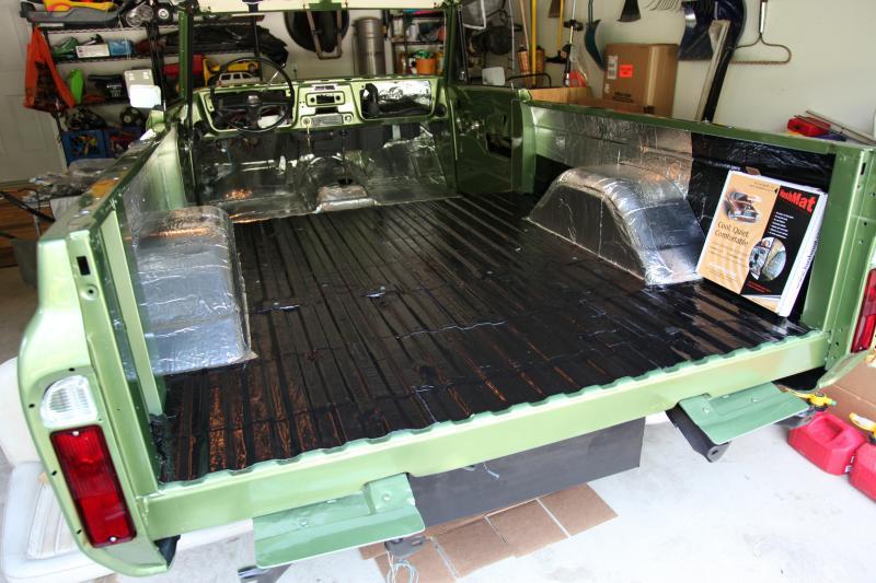 Hushmat 630104 Cargo Custom Insulation Kit Toyota FJ Cruiser 2007-2014