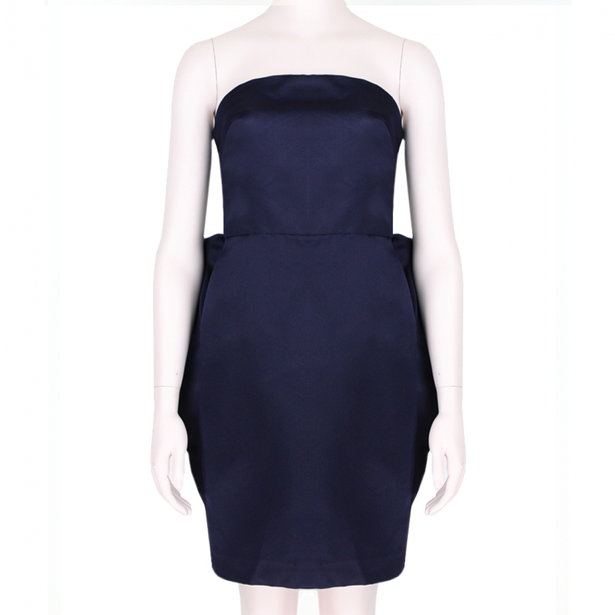 Stella Mccartney - Robe   pour femme en soie - bleu