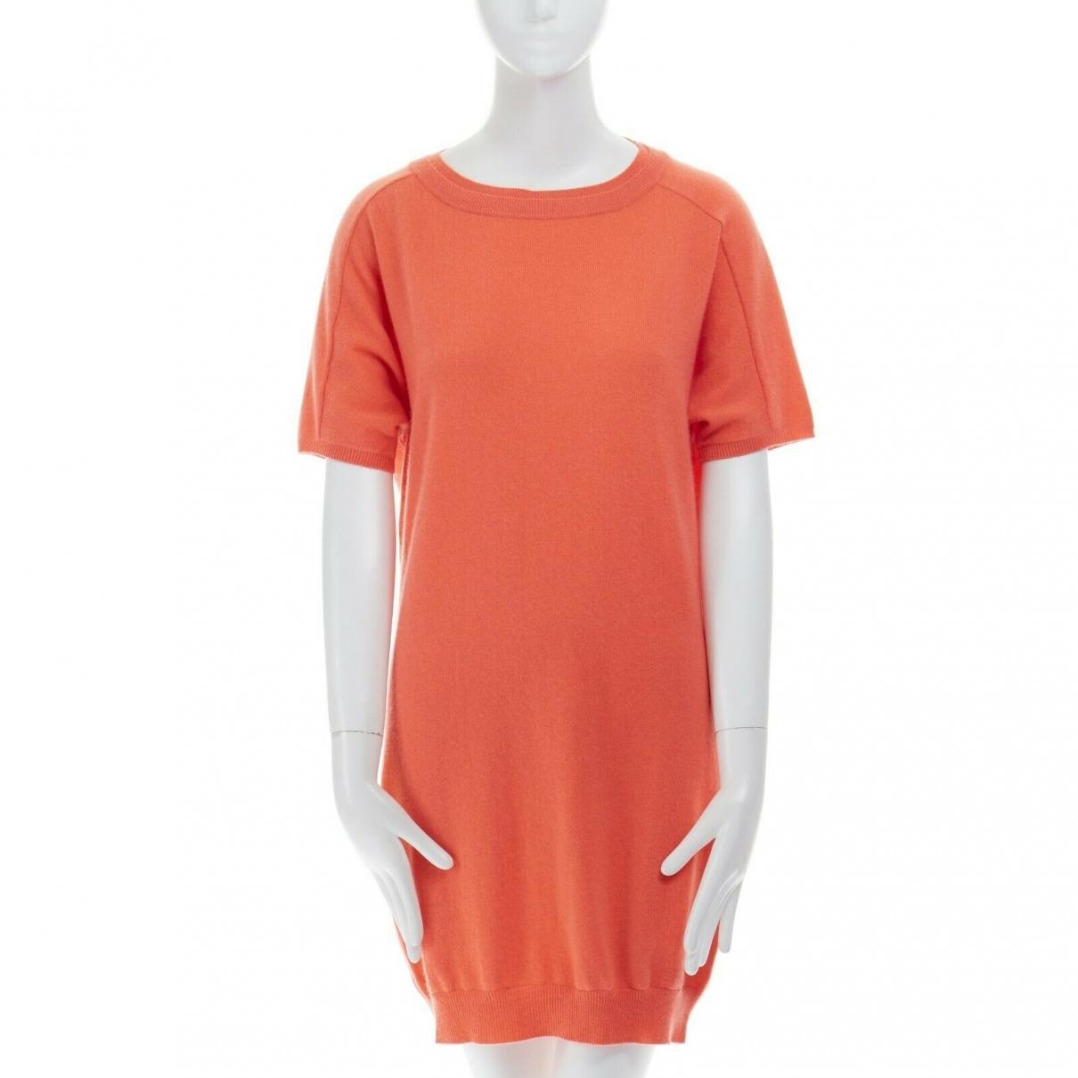 Chloe \N Kleid in  Orange Kaschmir