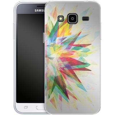 Samsung Galaxy J3 (2016) Silikon Handyhuelle - Colorful 6 von Mareike Bohmer