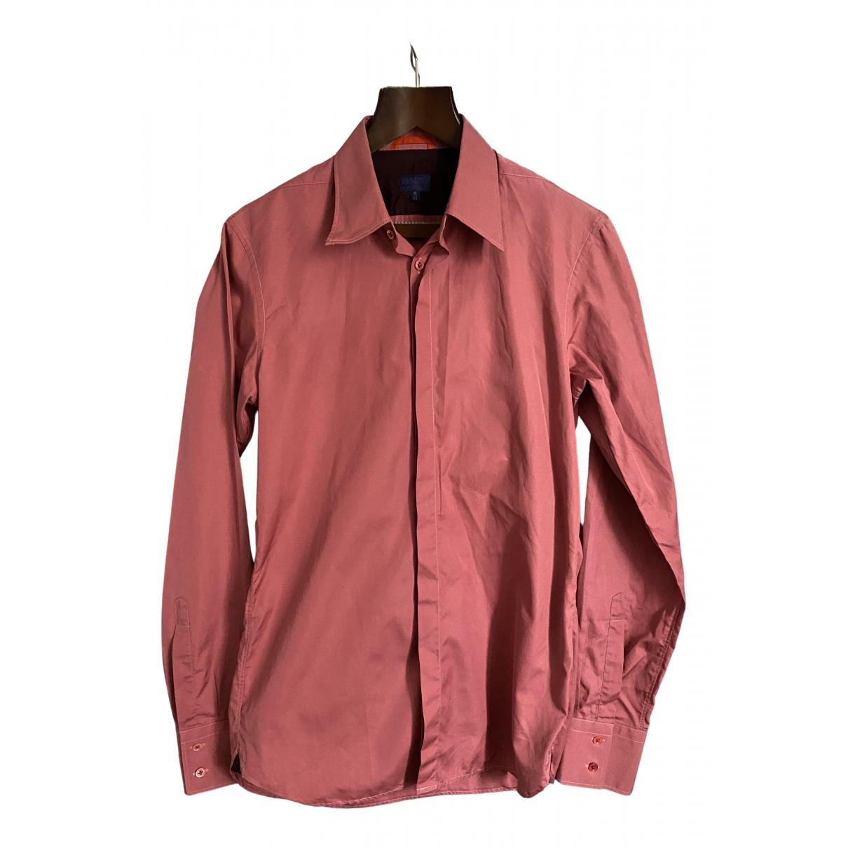Kenzo - Chemises   pour homme en coton - rose