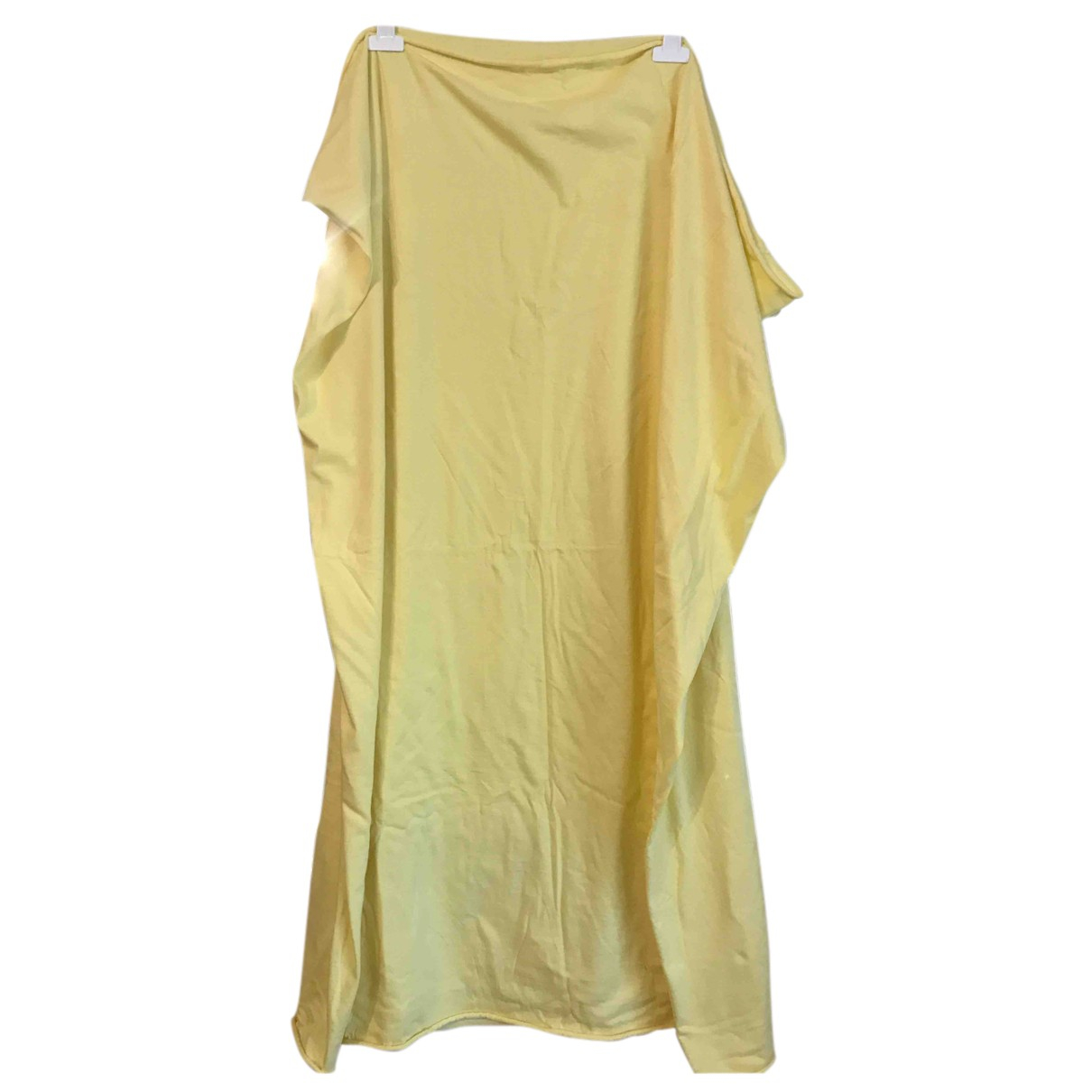 American Apparel N Yellow Cotton scarf for Women N
