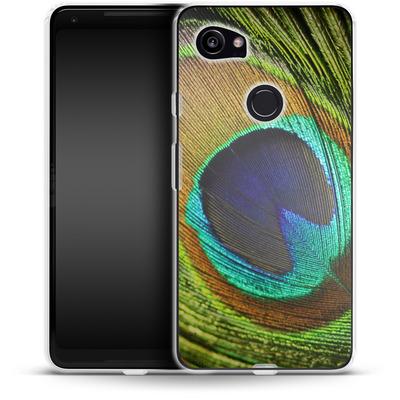 Google Pixel 2 XL Silikon Handyhuelle - Peacock von Mark Ashkenazi