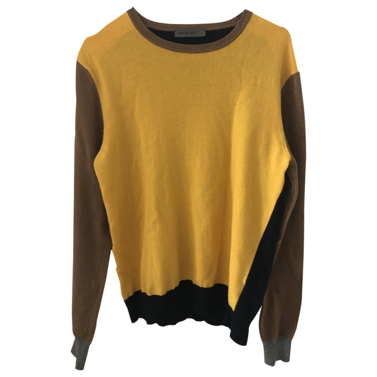 Manuel Ritz \N Yellow Wool Knitwear & Sweatshirts for Men M International