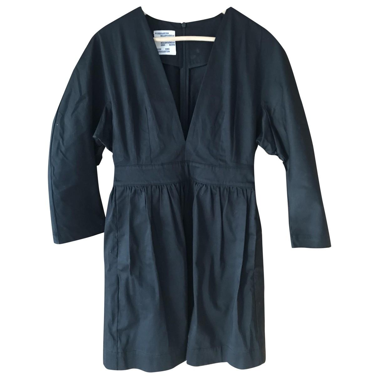 Baum Und Pferdgarten - Robe   pour femme en coton - elasthane - noir
