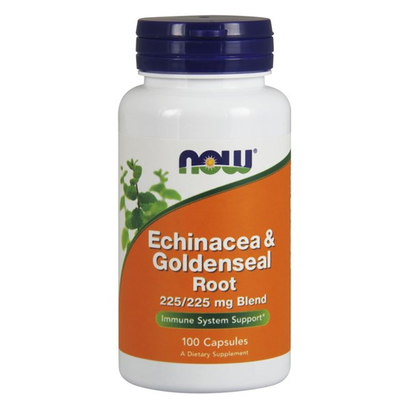 Echinacea & Goldenseal Root 100 Caps by Now Foods