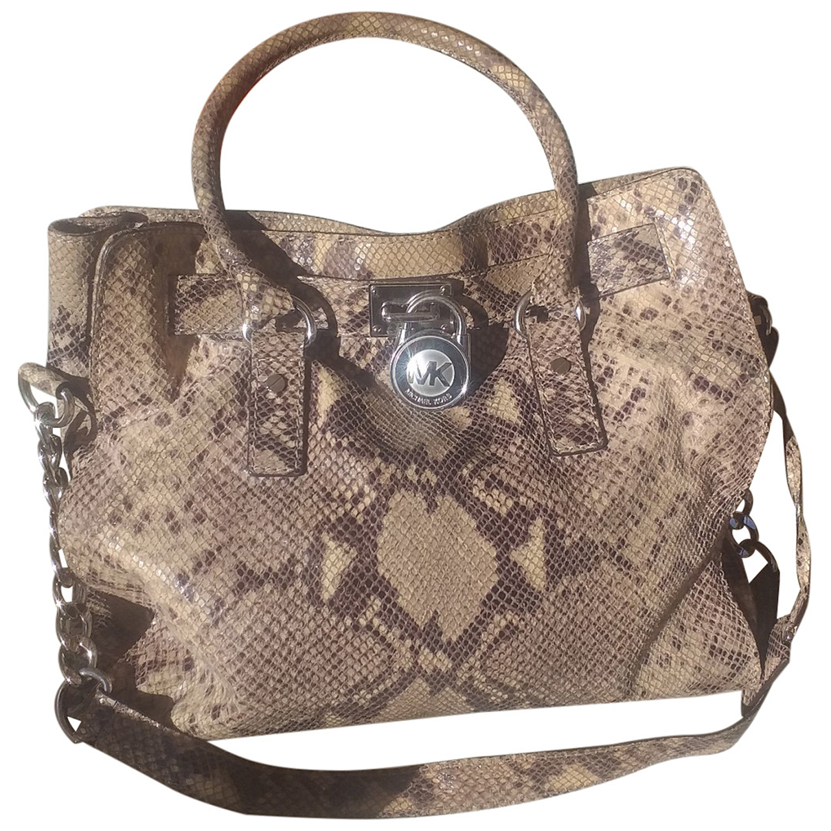 Michael Kors Hamilton Handtasche in Fell
