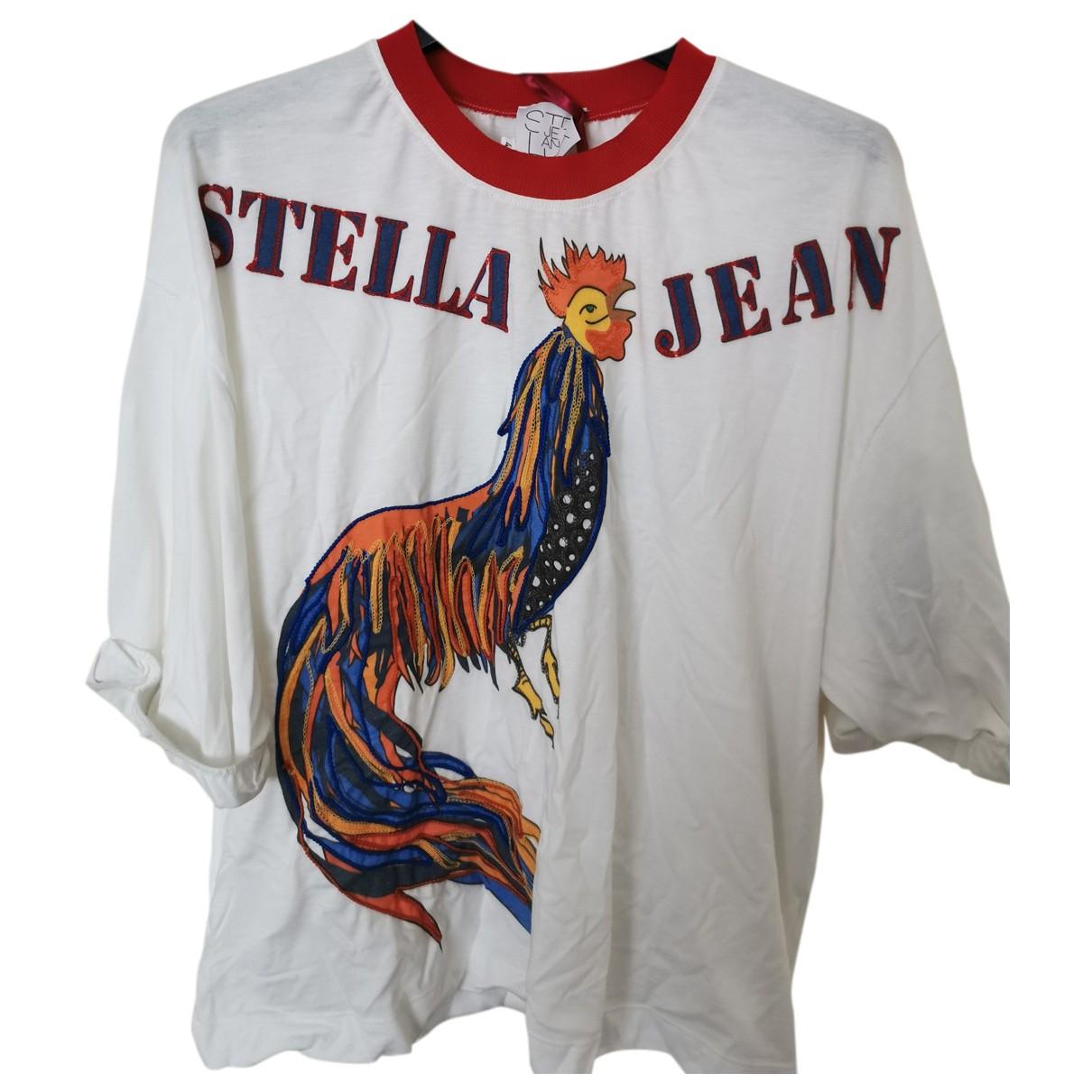 Stella Jean - Top   pour femme en coton - blanc