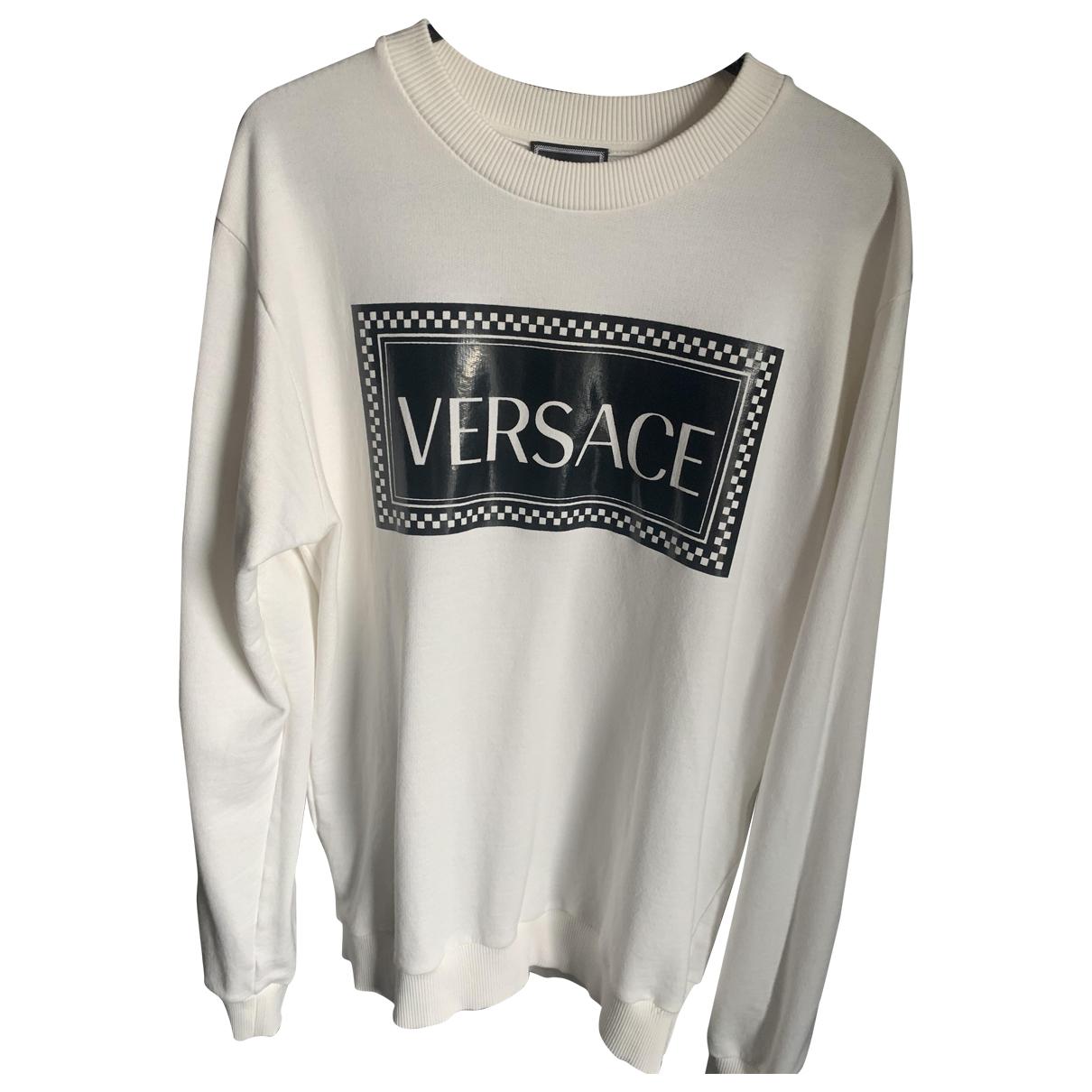 Versace \N White Cotton Knitwear & Sweatshirts for Men S International