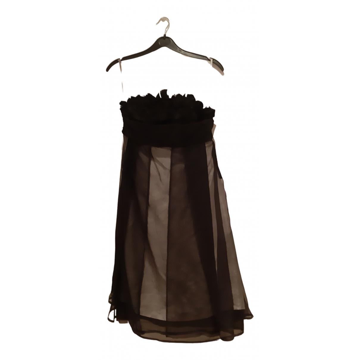 Celine N Black Silk dress for Women 38 FR