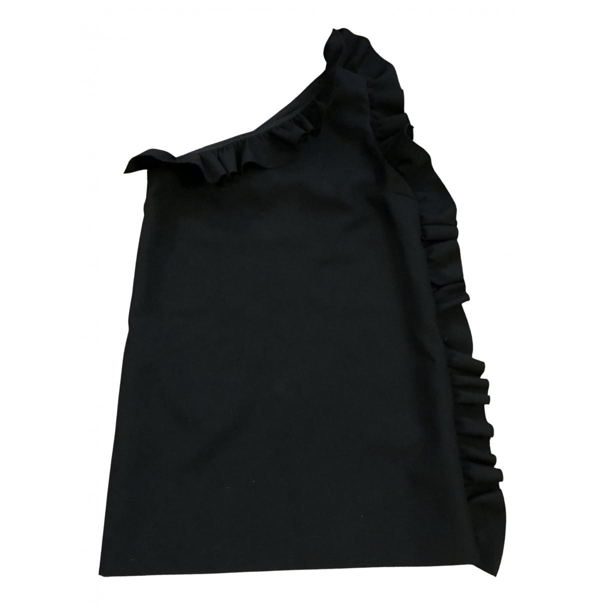 Msgm \N Kleid in  Schwarz Polyester