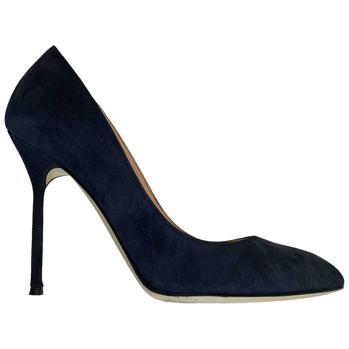 Sergio Rossi \N Pumps in  Blau Veloursleder