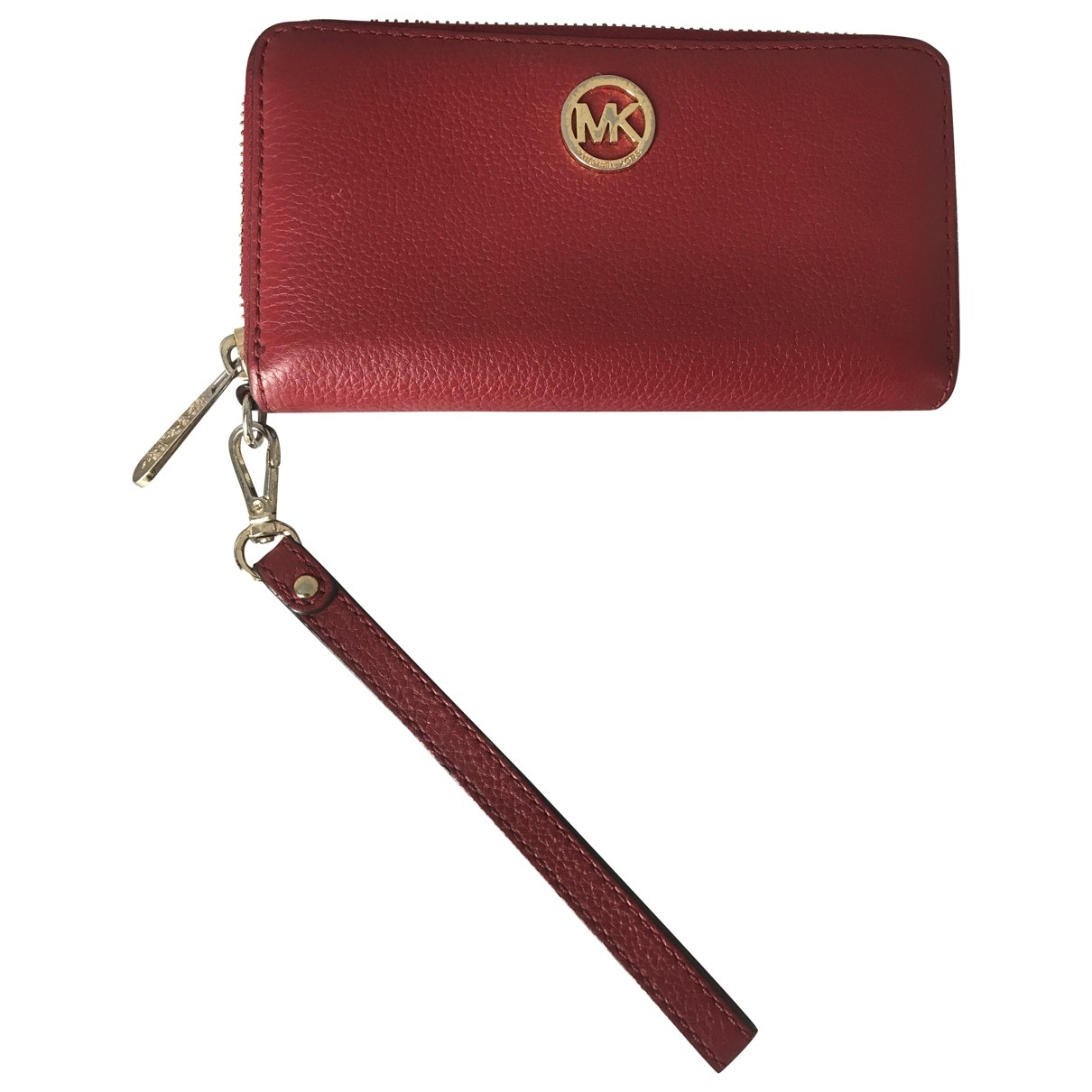 Michael Kors \N Red Leather wallet for Women \N