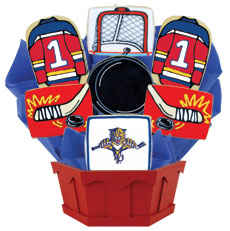 NHL Florida Panthers Cookie Bouquet