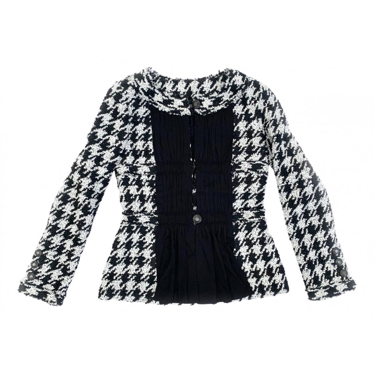 Chanel N Black Wool jacket for Women 36 FR