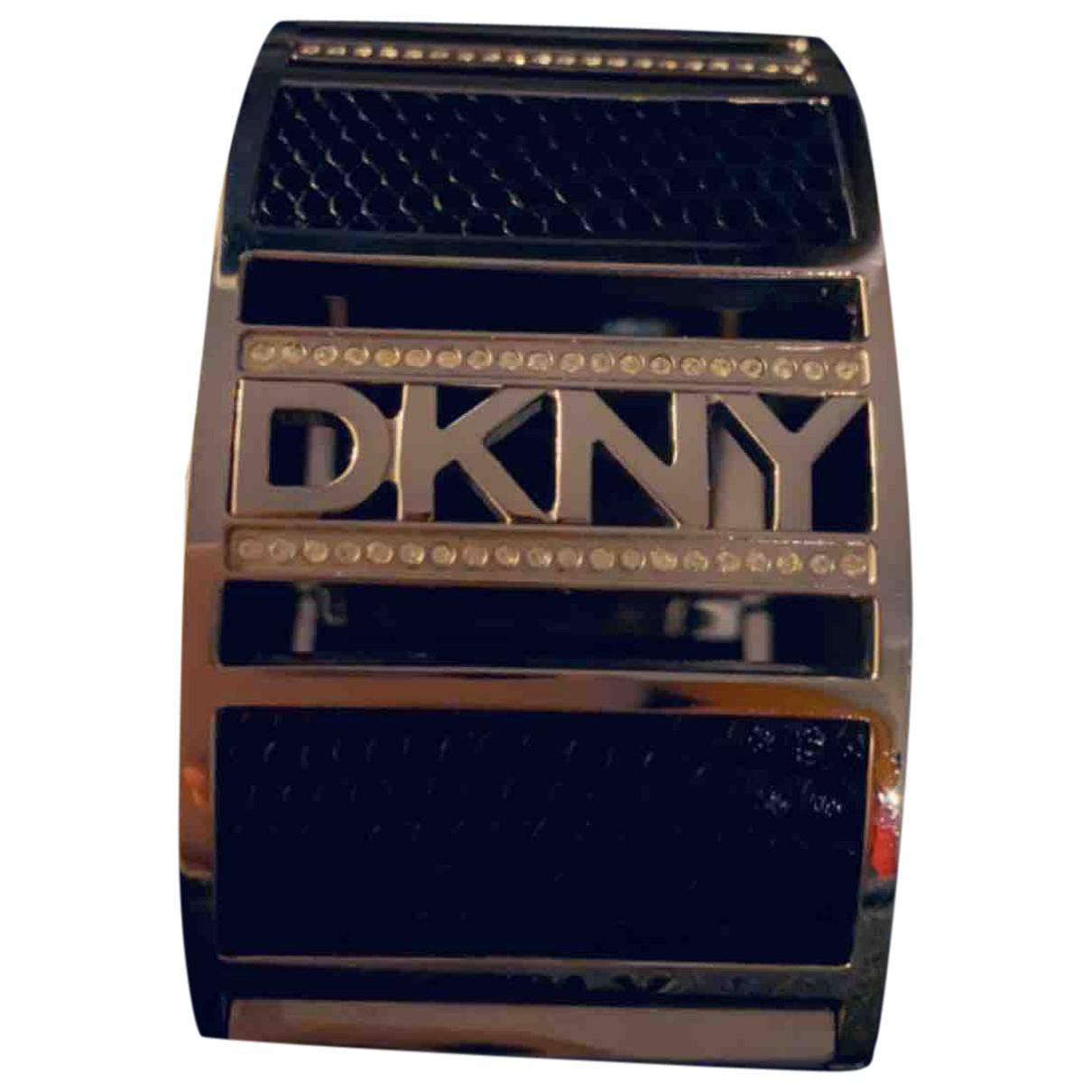 Dkny N Black Steel bracelet for Women N