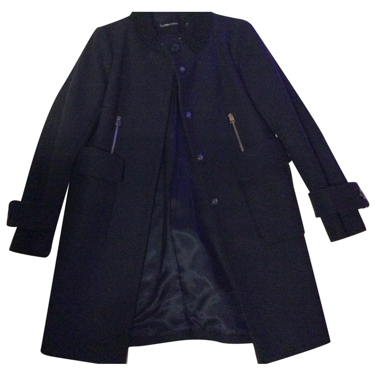 Tara Jarmon \N Navy Wool coat for Women 36 FR