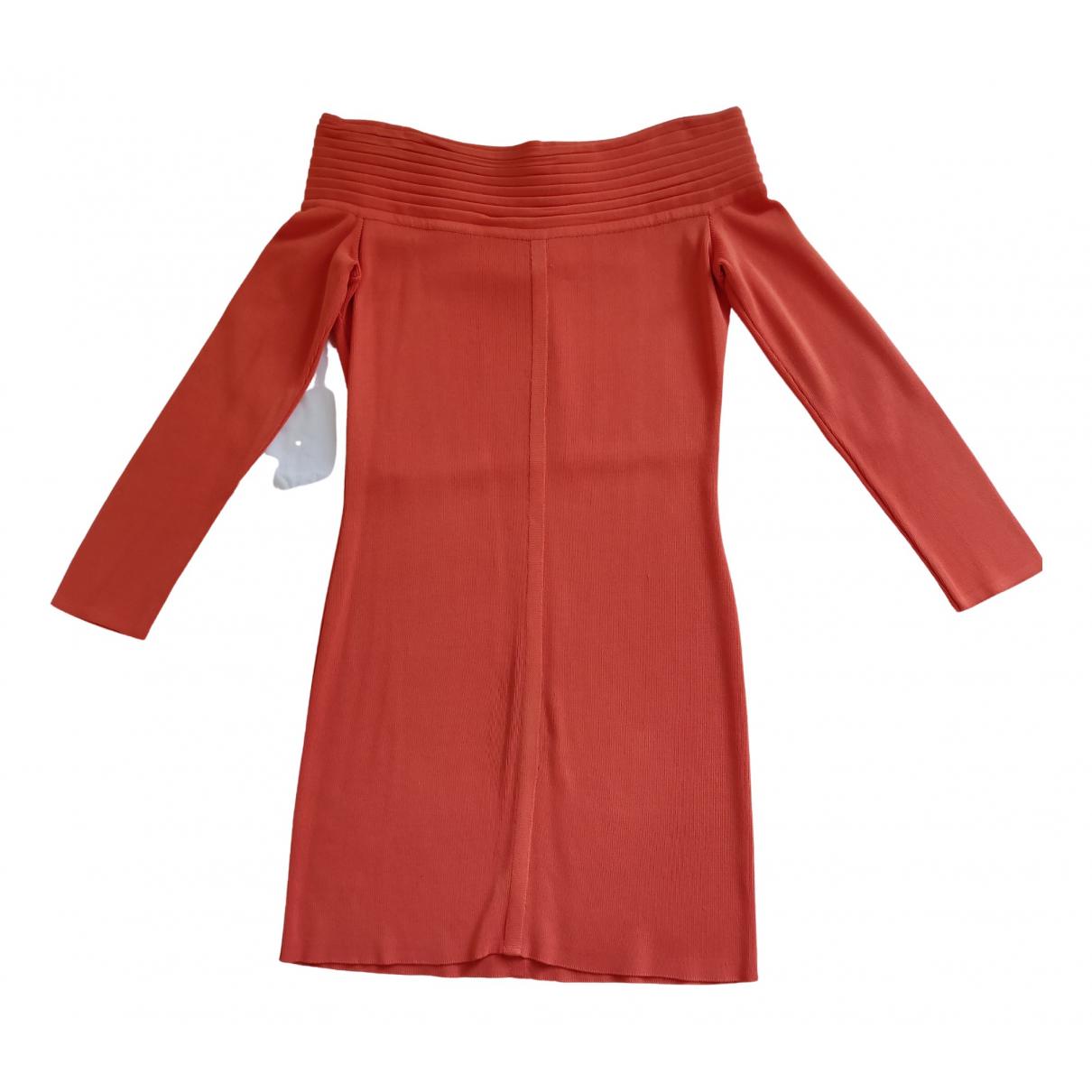 Paco Rabanne - Robe   pour femme - orange