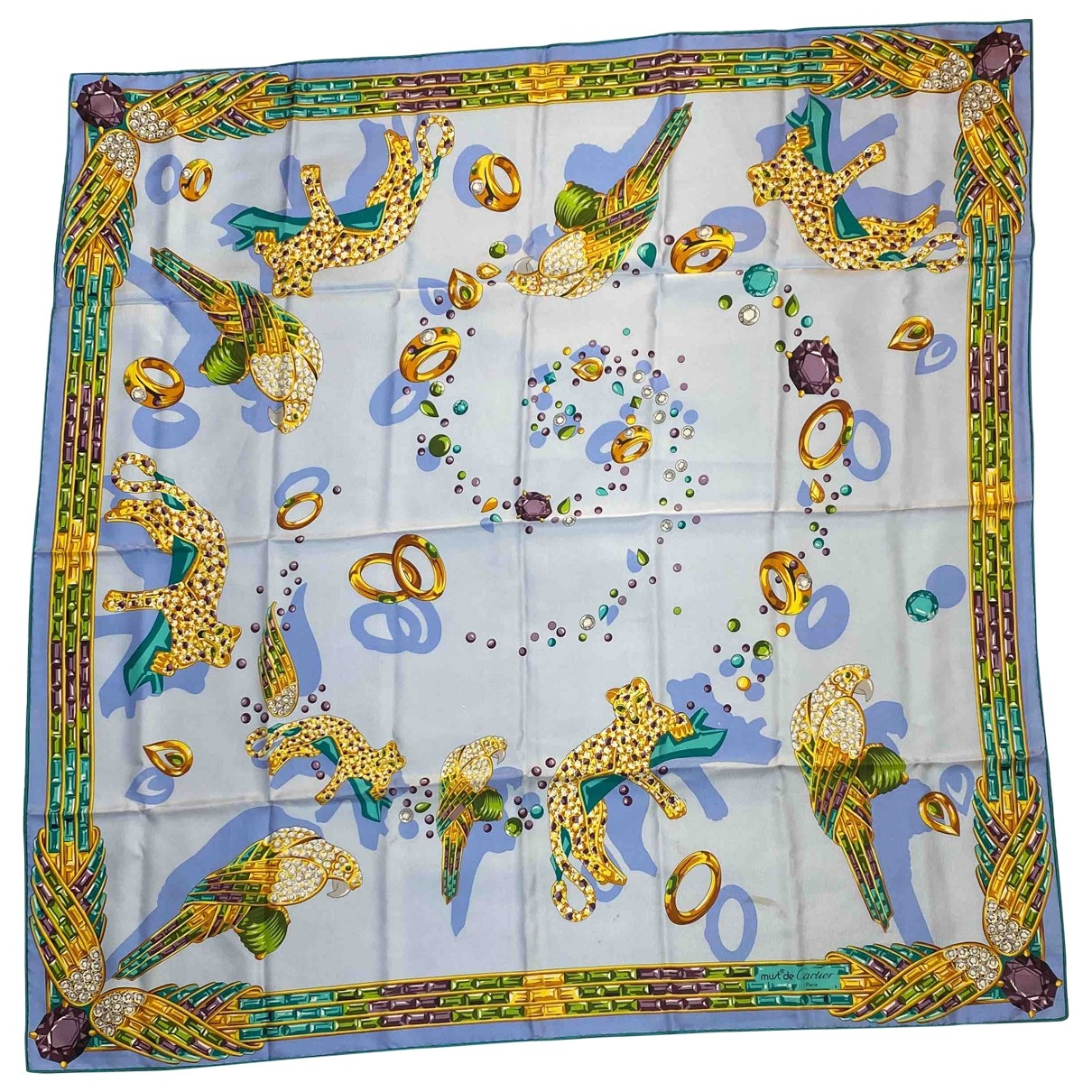 Cartier \N Multicolour Silk scarf for Women \N