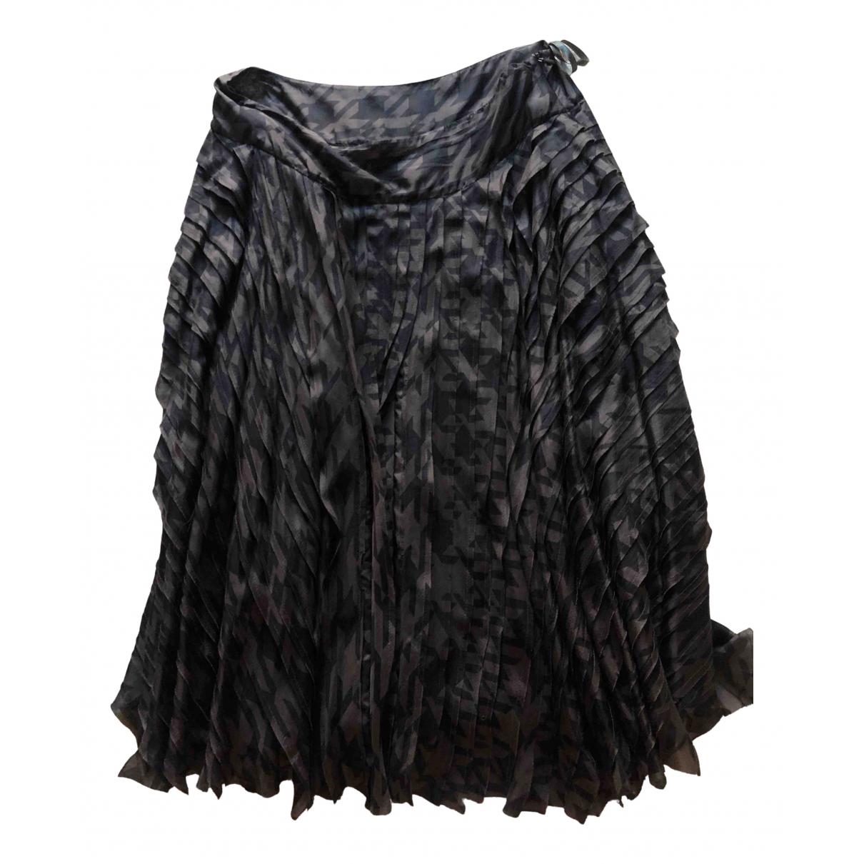 Dkny N Brown Silk skirt for Women 8 US