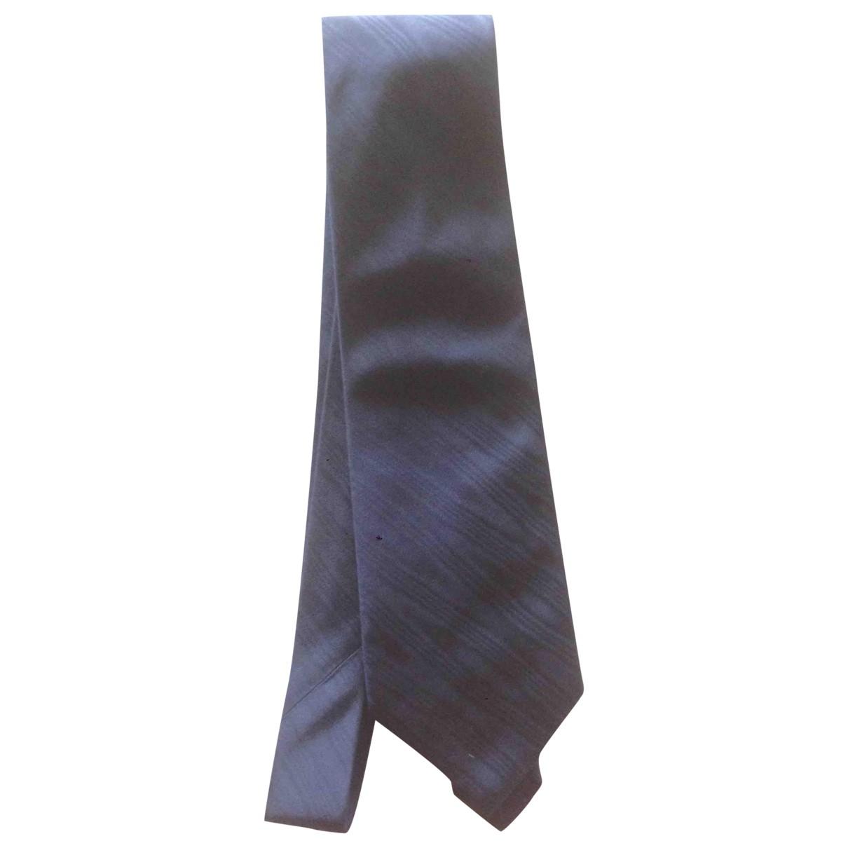 Gucci \N Blue Silk Ties for Men \N