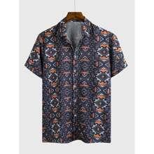 Shirt mit Geo Muster