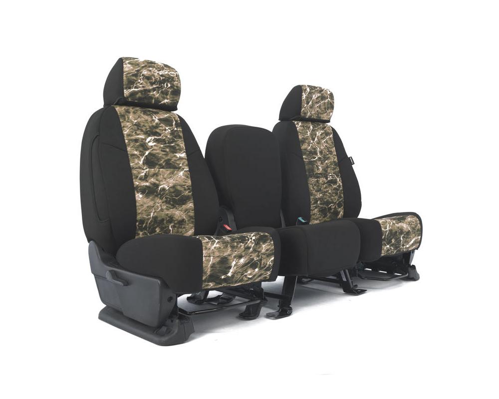 Coverking CSC2MO21SU9504 Skanda Custom Seat Covers 1 Row Neosupreme Mossy Oak Elements SandCRAB with Black Sides Rear Subaru Impreza 2017-2021