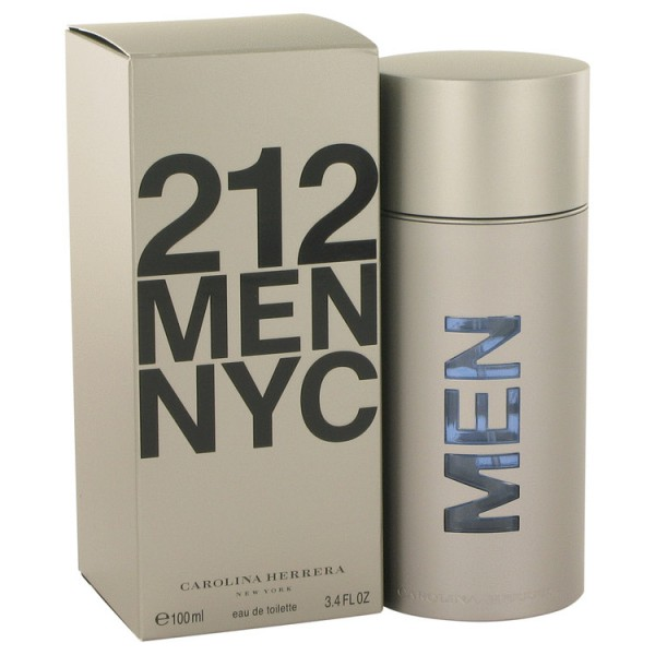 Carolina Herrera - 212 Men : Eau de Toilette Spray 3.4 Oz / 100 ml