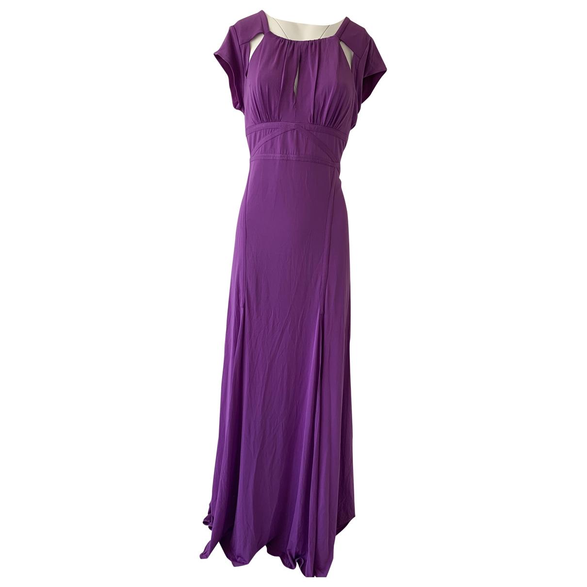 Bcbg Max Azria \N Kleid in  Lila Polyester