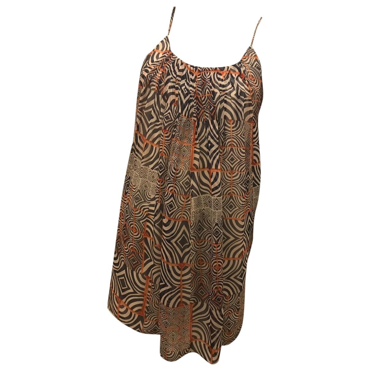 Paul & Joe Sister \N Multicolour Silk dress for Women 38 FR