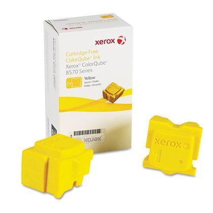 Xerox 108R00928 Original Yellow Solid Ink For ColorQube 8570 Printer - 2 Sticks/Pack