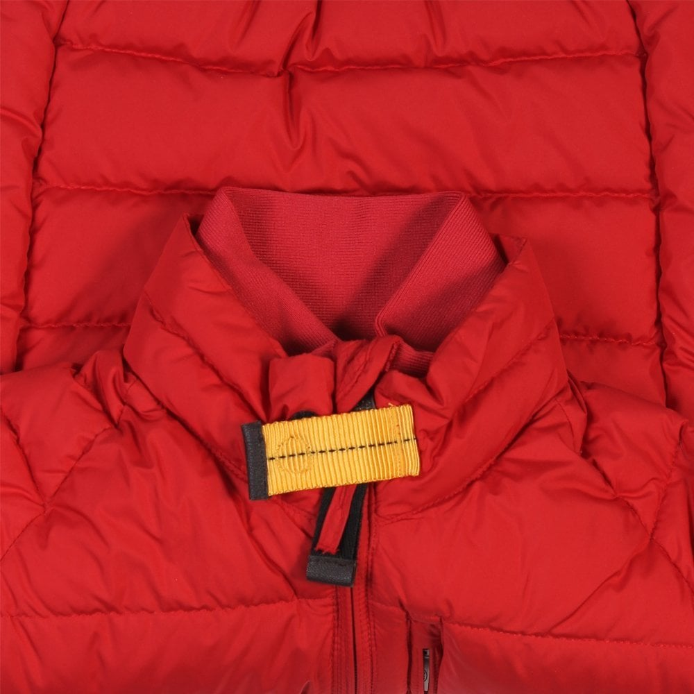 Parajumpers Kids Ugo Jacket Red Colour: RED, Size: 6 YEARS