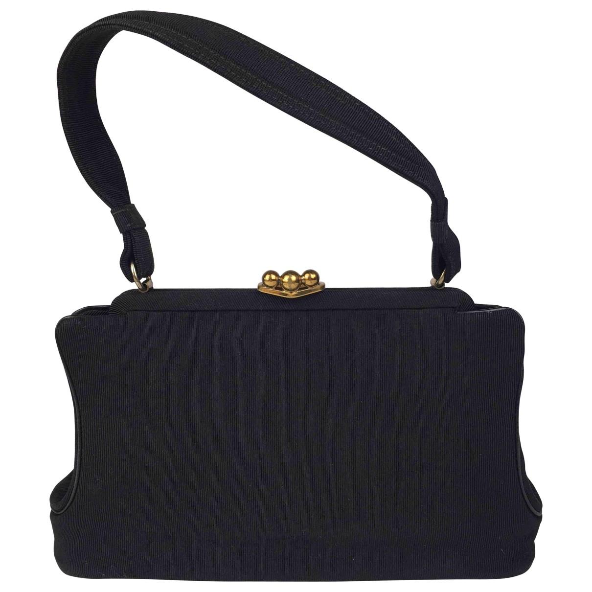 Non Signé / Unsigned \N Black Cotton handbag for Women \N