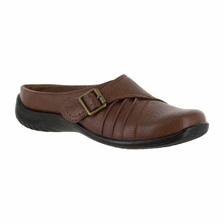 Easy Street Womens Hart Slip-On Shoe, 7 1/2 Medium, Brown