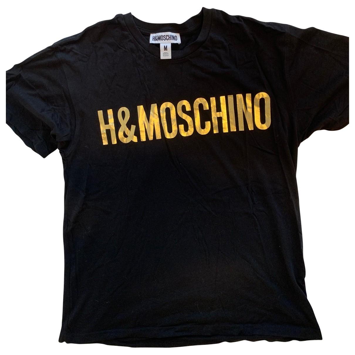 Moschino For H&m \N Top in  Schwarz Baumwolle