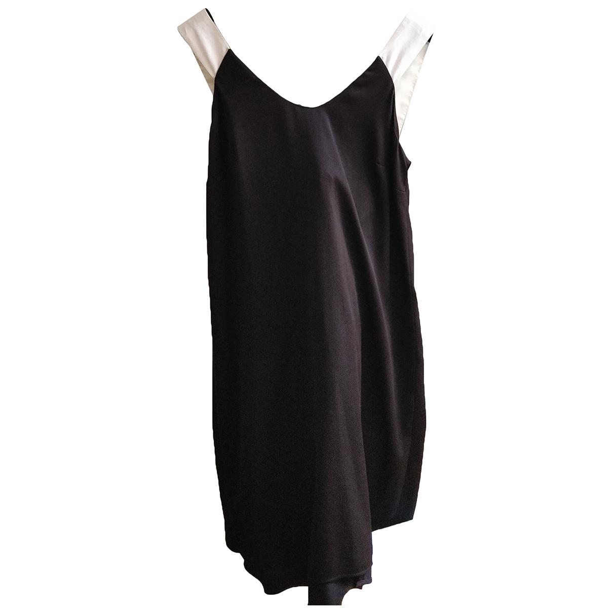 Claudie Pierlot \N Kleid in  Schwarz Synthetik
