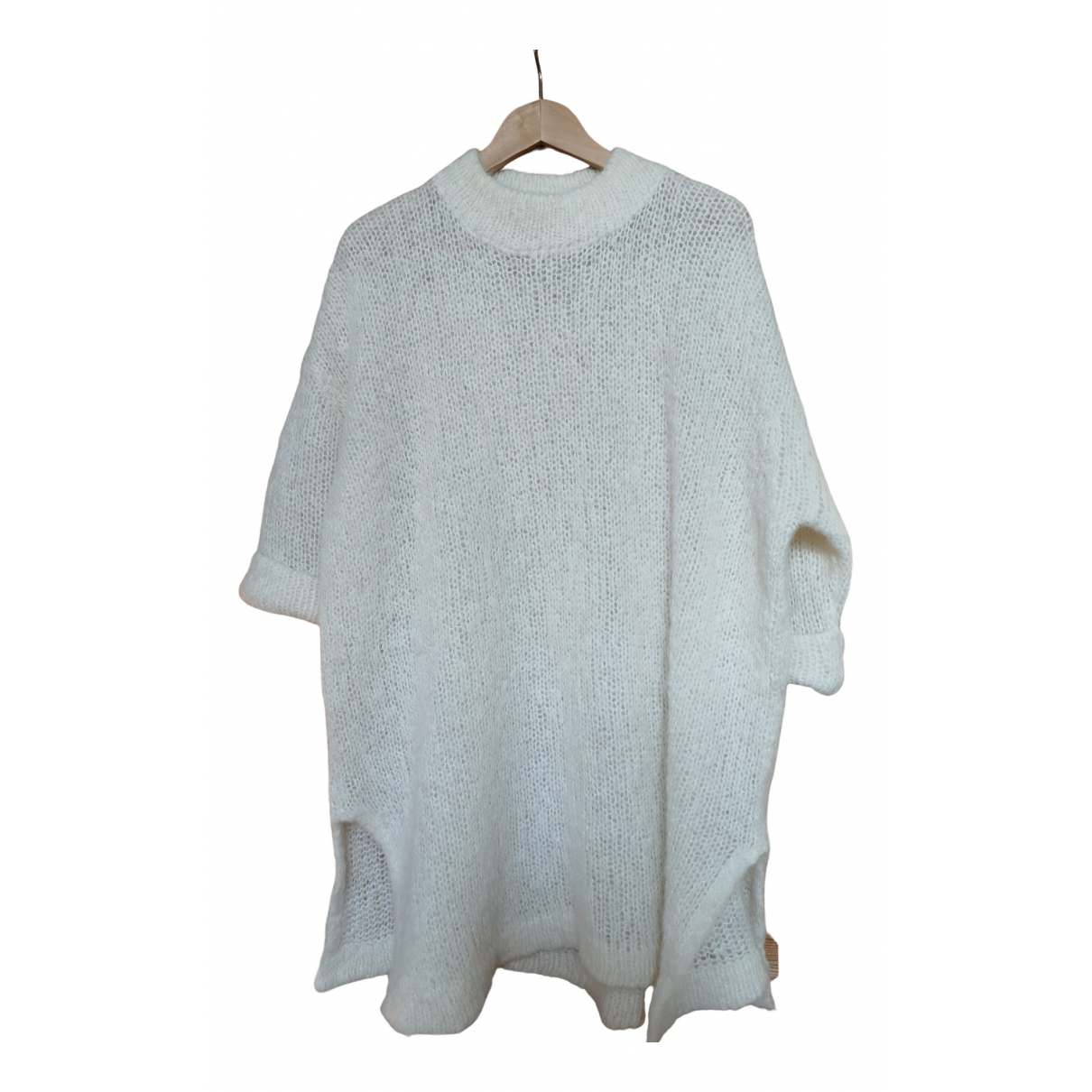 American Vintage \N Pullover in  Weiss Wolle