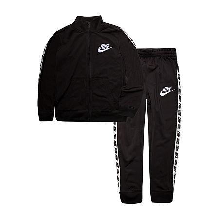 Nike Little & Big Boys 2-pc. Track Suit, 4 , Black