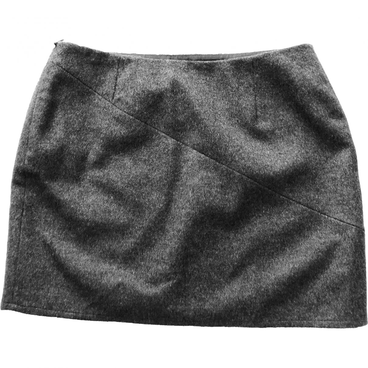 Claudie Pierlot \N Rocke in  Grau Wolle