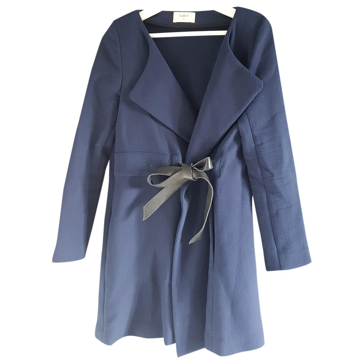 Ba&sh \N Navy Cotton coat for Women 36 FR